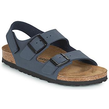 Shoes Boy Sandals Birkenstock MILANO HL Marine