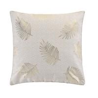 Home Cushions Douceur d intérieur SUNNY GOLD Beige