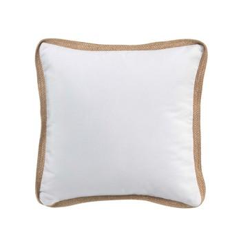 Home Cushions Douceur d intérieur KELONIA White