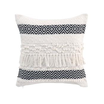 Home Cushions Douceur d intérieur ZYA Black