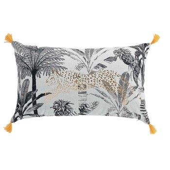 Home Cushions Douceur d intérieur LEOGOLD White