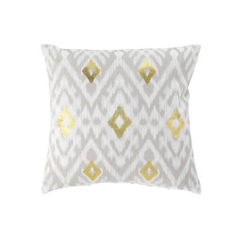 Home Cushions covers Douceur d intérieur LULAGOLD White
