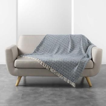 Home Blankets, throws Douceur d intérieur PITHAYA Blue