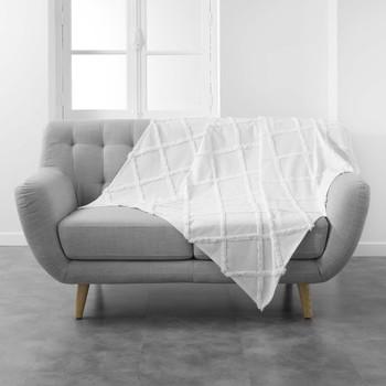 Home Blankets, throws Douceur d intérieur CALYSSA White
