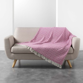 Home Blankets, throws Douceur d intérieur PITHAYA Pink