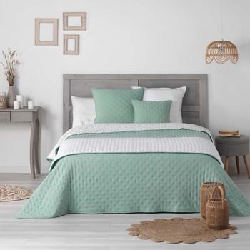 Home Duvet Douceur d intérieur MELLOW CHIC Mint / White
