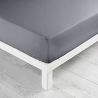 Home Fitted sheet Douceur d intérieur LINA Grey / Mouse