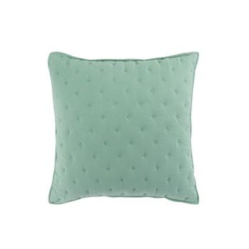 Home Cushions covers Douceur d intérieur MELLOW CHIC Mint / White