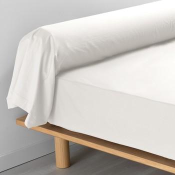 Home Pillowcase, bolster Douceur d intérieur PERCALINE Natural
