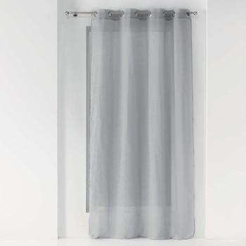 Home Sheer curtains Douceur d intérieur ZAZY Grey