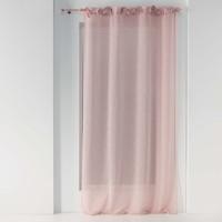 Home Sheer curtains Douceur d intérieur CHARLOTTE Pink
