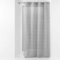 Home Sheer curtains Douceur d intérieur KARRONA Anthracite
