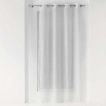 Home Sheer curtains Douceur d intérieur ZAZY White