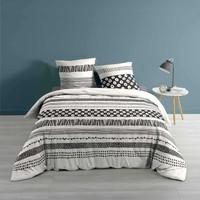 Home Bed linen Douceur d intérieur BLACKY White