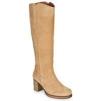 Shoes Women Boots Casual Attitude PASTILLE Beige