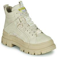Shoes Women Mid boots Buffalo ASPHA NC MID Beige