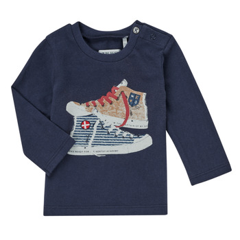 material Boy Long sleeved shirts Ikks AURORE Marine