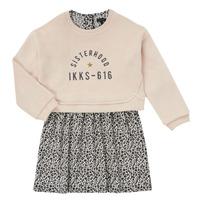 material Girl Short Dresses Ikks MENTHE Beige