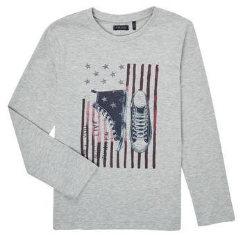 material Boy Long sleeved shirts Ikks SAPHIR Grey