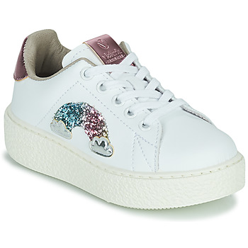 Shoes Girl Low top trainers Victoria  White