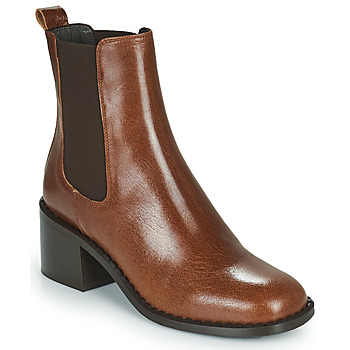 Shoes Women Ankle boots Minelli FREYLA Brown