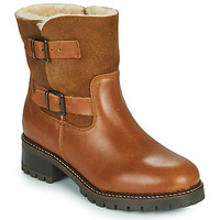 Shoes Women Ankle boots Minelli LEILA Brown