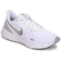 Shoes Women Multisport shoes Nike WMNS NIKE REVOLUTION 5 White / Silver
