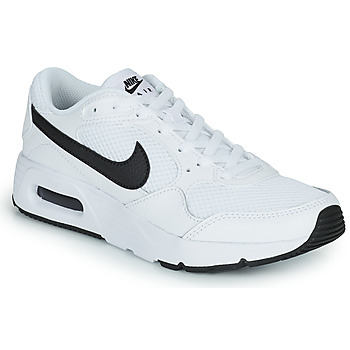 Shoes Children Low top trainers Nike NIKE AIR MAX SC (GS) White / Black