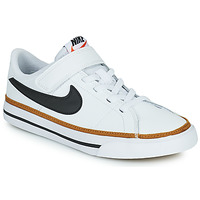 Shoes Children Low top trainers Nike NIKE COURT LEGACY (PSV) White / Black