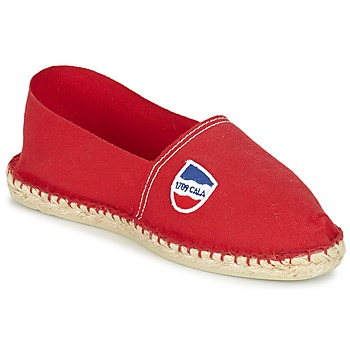 Shoes Men Espadrilles 1789 Cala UNIE ROUGE Red