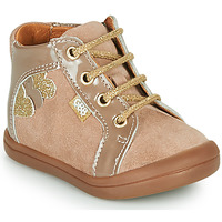 Shoes Girl High top trainers GBB PRUNE Beige