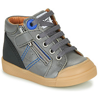 Shoes Boy High top trainers GBB ANATOLE Grey