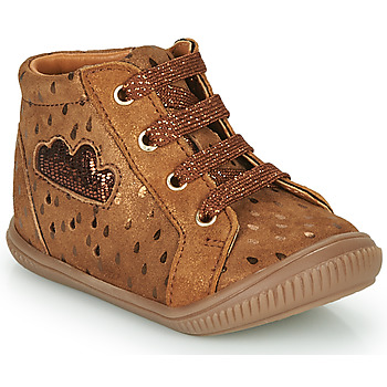 Shoes Girl High top trainers GBB MASHA Brown