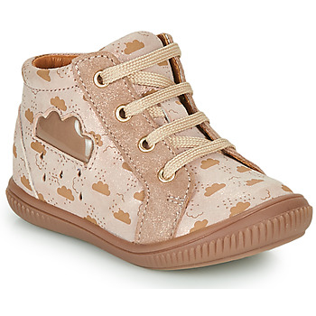 Shoes Girl High top trainers GBB MASHA Beige