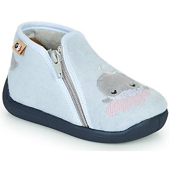 Shoes Girl Slippers GBB APOPOTAM Blue