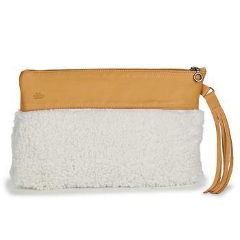 Bags Women Evening clutches Easy Peasy POUCHY FOURRURE Brown