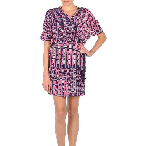 material Women Short Dresses Stella Forest YRO059 Marine / Pink