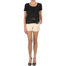 material Women Shorts / Bermudas Stella Forest YSH003 Ecru