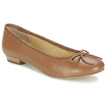 Shoes Women Ballerinas Balsamik ALVES largeur normale CAMEL