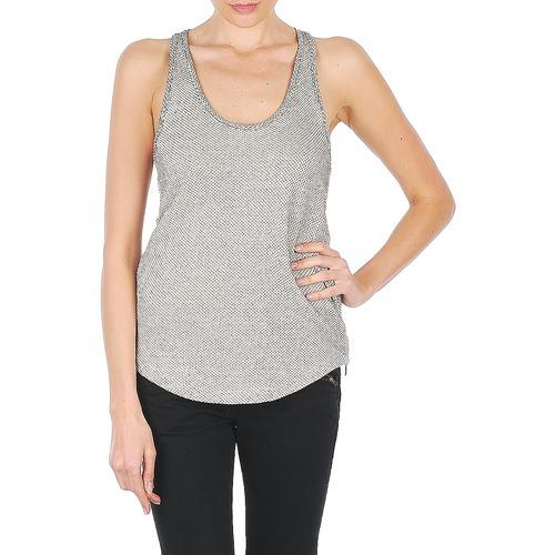 material Women Tops / Sleeveless T-shirts Stella Forest YDE019 Ecru