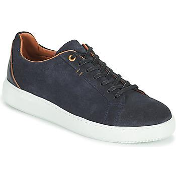 Shoes Men Low top trainers Pellet OSCAR Blue