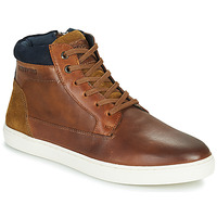 Shoes Men High top trainers Redskins FILAIRE Cognac