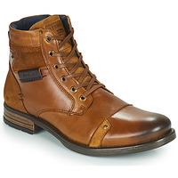 Shoes Men Mid boots Redskins NITRO Cognac