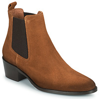 Shoes Women Mid boots Fericelli PAMINA Tan