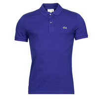 material Men short-sleeved polo shirts Lacoste POLO SLIM FIT PH4012 Blue / King