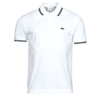 material Men short-sleeved polo shirts Lacoste PH2384 White