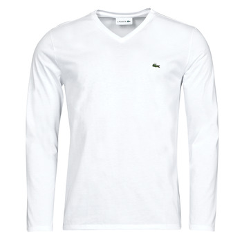 material Men Long sleeved shirts Lacoste NAIM White