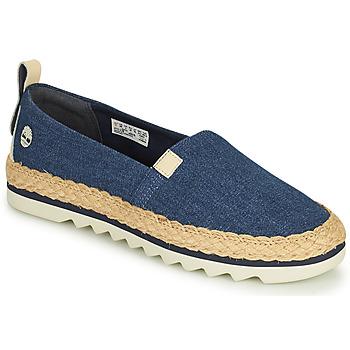 Shoes Women Espadrilles Timberland Barcelona Bay Classic Textile Blue