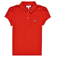 material Girl short-sleeved polo shirts Lacoste CLEMENCE Red