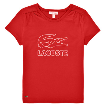 material Girl short-sleeved t-shirts Lacoste JEANNE Red